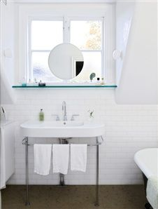 Image Gallery - Interior, inspiration, furniture, design and gardening - House & Home Bathroom Inspiration, Interior Inspiration, Bathroom Ideas, Viera, Future House, Toilet, Sink, Mirror, Home Decor