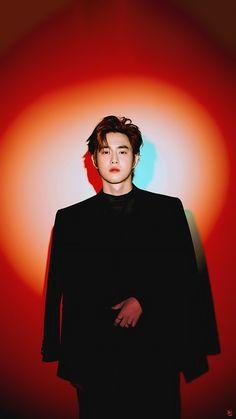 폰배경화면/ #LoveShot #김준면 #수호 #SUHO Chanyeol, Kyungsoo, Kim Min Seok, Xiu Min, Kai, Kim Joon Myeon, Exo Album, Exo Lockscreen, Instyle Magazine