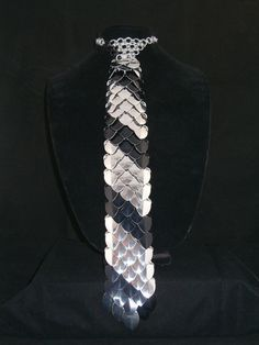 Scale Maille Necktie/ Chainmaille Necktie by AmandaLynnChainmail, $85.00