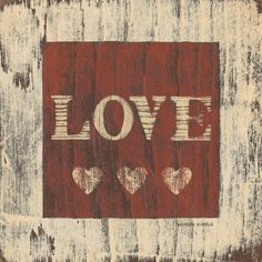 Love Art Print - Warren Kimble