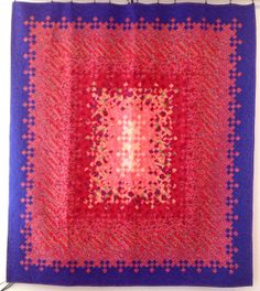 """Blooming Nine Patch Quilt 80x90 Spring Garden HOLY COW THAT""""S A LOT OF TINY SQUARES!! (the stuff on this site is incredible!!!)"""
