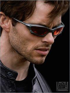 Check out X-men's Scott Summer (James Marden) sunglasses!
