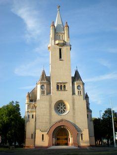 árpád téri református templom debrecen Heart Of Europe, Hungary, Architecture, Arquitetura, Architecture Illustrations, Architecture Design, Architects
