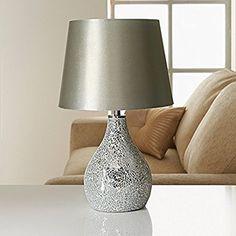 Beautiful Ava Mosaic Table Lamp: Amazon.co.uk: Lighting