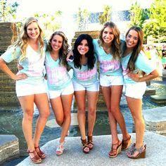 Kappa Kappa Gamma at Chapman University #KappaKappaGamma #KKG #Kappa #BidDay #sorority #Chapman