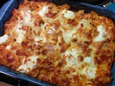 """Lasagna-Style Baked Ziti! """""""" @allthecooks #recipe #pasta #dinner # ..."""