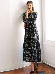 <p>You know what you're going to do with this silk dress? Live in it. Just picture it with Chelsea boots for an A.M. coffee date or with a bib necklace for your Thursday night plans.</p> <p> </p> <p>Made in Ghana. </p> <p> </p> <p>Hand-dyed and batiked.</p> <p> </p> <p>100% silk crepe de chine.</p> <p> </p> <p>Drawstring waist.</p> <p> </p> <p>Dry clean or hand wash cold. Hang dry.</p> <p> </p>