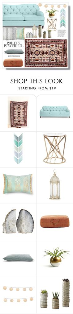 """Pretty and cozy home decor by SFRugs"" by sfrugs ❤ liked on Polyvore featuring interior, interiors, interior design, home, home decor, interior decorating, Kate Spade, Jayson Home, LumaBase and vintage"