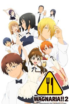"Wagnaria!! It's actually called ""Working!"" in Japan, but apparently they couldn't use that name in the States. Imagine the Office, but set in a family restaurant. Every character has their quirk but when they all mesh and play off of each other it's fun."