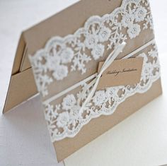 lace on invite
