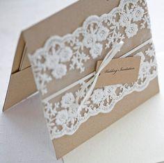 lace on invite