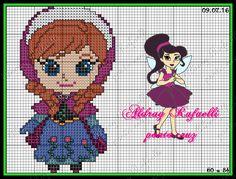 Anna Frozen  pattern by Aldray Rafaelli