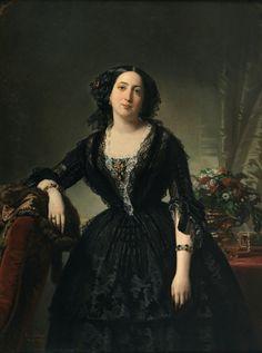 1855 María Dolores de Aldama y Alfonso, marquesa de Montelo by Federico Madrazo y Kunz (Museo Nacional del Prado - Madrid Spain) | Grand Ladies | gogm