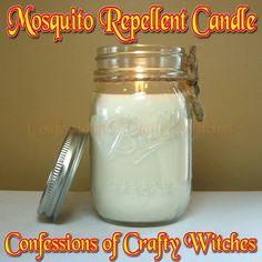 Mosquito repellent Candle Tutorial