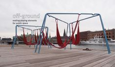Swings and Hammocks for Public Spaces | Playscapes