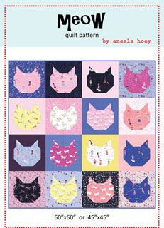 Aneela Hoey Meow Quilt