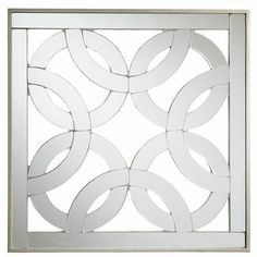 baby version, not nearly as exciting... and of course I would need like 9 of them anyway! Four Circles Mirrored Wall Decor