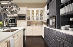 Explore cabinet door styles for kitchens or bathrooms from Omega Cabinetry. Browse dozens of cabinet doors and compare up to 3 different styles at once. Different Color Kitchen Cabinets, Kitchen Cabinet Colors, Kitchen Cabinets In Bathroom, Kitchen Cabinetry, Kitchen Colors, Kitchen And Bath, Kitchen Decor, Kitchen Ideas, Kitchen Planning