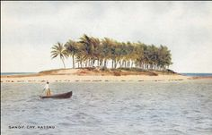 Sandy Cay, Bahamas British West Indies, Island, Vintage, Islands, Vintage Comics