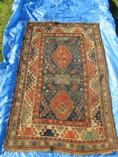 CAUCASIAN 19TH CENTURY RUG (TALISH) – COLLECTION OF ANTHONY J SARGEANT