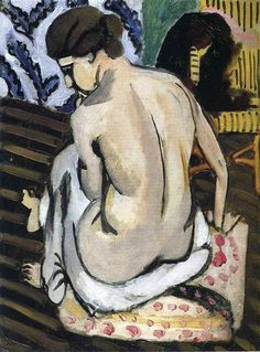 Nude's Back - Matisse Henri