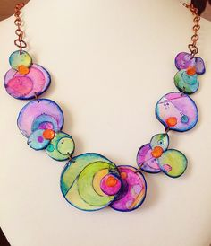 Polymer clay, Necklace