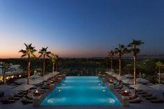 Astonishing Infinity Pool with underwater music system @ Conrad Algarve, Portugal
