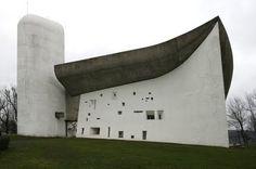 Notre Dame du Haut by Le Corbusier - Rochamp Chapel