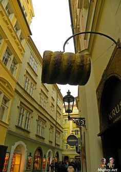Giant Trdelnik (sweet pastry) in Prague   http://bbqboy.net/how-visiting-prague-in-early-april-turned-into-a-kinder-surprise-and-some-tips-and-recommendations/