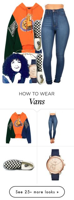"""untitled #267"" by yani122 on Polyvore featuring Vans and FOSSIL"