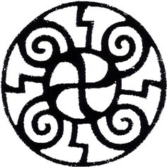 symbols of Transformation | Cuatro Flores (Four Flowers) represents the Four Directions; the Four ...