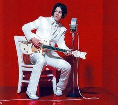 Jack White - The White Stripes Jack White, Meg White, The White Stripes, I Love Music, Good Music, Just Deal With It, White Suits, Matthew Gray Gubler, Music Icon
