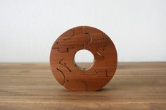 Vintage Wooden Puzzle Toys / Animal Wood Lego Toys