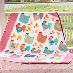 Bee In My Bonnet: Farm Girl Vintage 2 Quilt Along - Farm Girl Friday's - Week Eighteen! Quilting Projects, Quilting Designs, Quilting Ideas, Quilt Design, Sewing Projects, Mini Quilts, Baby Quilts, Farm Quilt Patterns, Chicken Quilt