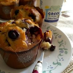 A simple recipe that made use of the fresh blueberries in season. The fresh fruit shared the same quantity as the flour. So you can expect b...