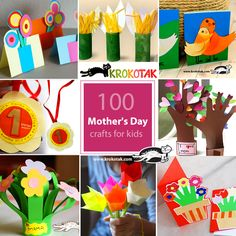 100 mother's day crafts for kids