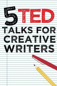 5 TED talks for creative writers – Katelyn Piontek Book Writing Tips, Writing Words, Writing Quotes, Fiction Writing, Writing Resources, Teaching Writing, Writing Skills, Writing Prompts, Creative Writing Classes