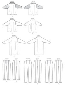 B5961 | Misses' Top and Pants | Katherine Tilton | Butterick Patterns