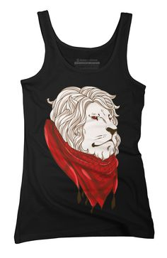 Keffiyeh Lion Womens Tank Top