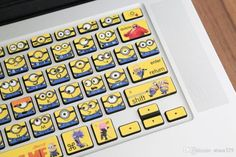 Minions Keyboard Stickers - Make Your Laptop Awesome