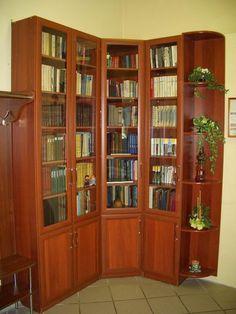 """Книжные шкафы   Студия мебели """"Стиль"""" Пенза - кухни на заказ, встраиваемые шкафы, нестандартная мебель, мебель на заказ, шкафы купе, двух ярусные кровати нестандарт, кровати, мягкая мебель, по моим эскизам мебель"""