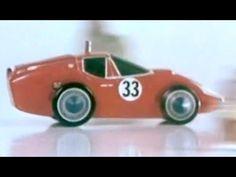 Dare Devil Trik Trak TV #Commercial 1964 Transogram Games; Battery-Powered Model Race Cars https://www.youtube.com/watch?v=Os7yj4BbeSo #toys #advertising