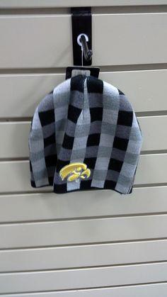 Checkered Hawkeyes Winter Hat