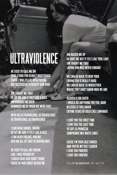 Lana Del Rey Lyrics, Lana Del Ray, Brooklyn Baby, Summertime Sadness, Ldr, Lyric Quotes, Music Lyrics, True Love, Love Him