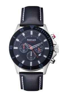 FASTRACK - CHRONOGRAPH MEN'S WATCH in Rs. 4,795/-  Use Coupon : SPRING25  http://www.watchkart.com/fastrack-3072sl02-men-s-watch.html