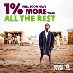 The gap between the world's richest and poorest people is widening, and while the wealth of the grows greater, inequality threatens to undo much of the progress made over the past 20 years in tackling poverty. Richest In The World, Girl Empowerment, World Economic Forum, The More You Know, Sociology, Change The World, Human Rights, Current Events, Something To Do