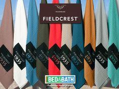 BEACH TOWELS WAFFLE FIELDCREST 100% cotton