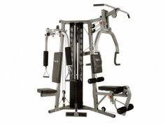 The BodyCraft Galena Pro home gym is built to fit into any corner of a room, requiring much less space than traditional designs. Home Gym Equipment, No Equipment Workout, Gym Workouts, At Home Workouts, Stretching Exercises For Seniors, Home Gym Machine, Elliptical Cross Trainer, Best Home Gym, Thing 1