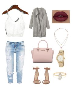 """""""Casual"""" by savannahpetrova on Polyvore featuring moda, Dsquared2, Toast, Gianvito Rossi, Michael Kors y DKNY"""