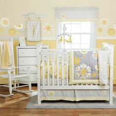 Sweet Sunshine Bedding by MiGi - Baby Crib Bedding - mgd0677
